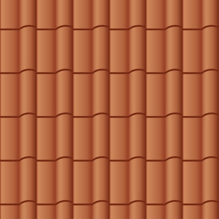 roof tiles: vector roof tile seamless background