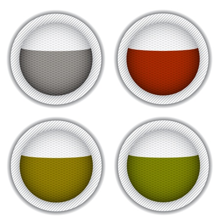 tea bags circle Stock Vector - 14941410