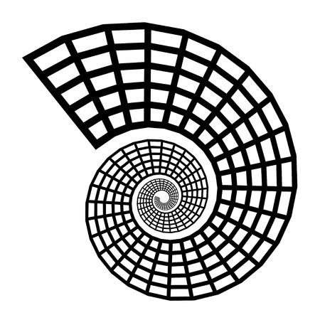 shell pattern: shell silhouette