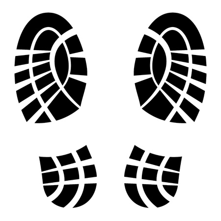 trace: clean shoe imprints
