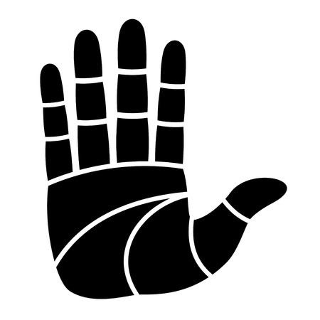 vector clean hand imprint Vector
