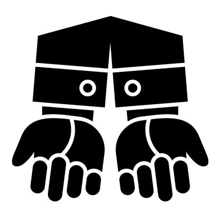 vector clean gesturing hands Vector
