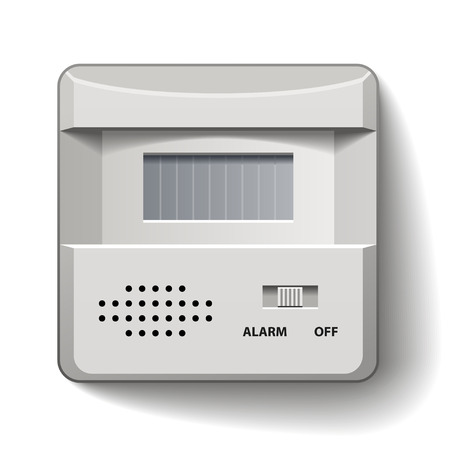 vector motion detector infrared alarm Vector