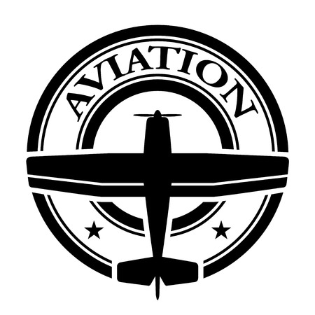 vector aviation stamp Vector