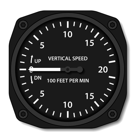 deviation: vector aviation variometer vertical speed indicator