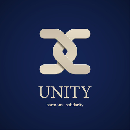 vector unity symbol design template 向量圖像