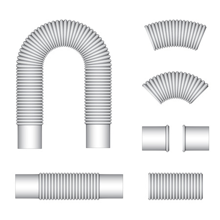 conduit: plumbing corrugated flexible tubes