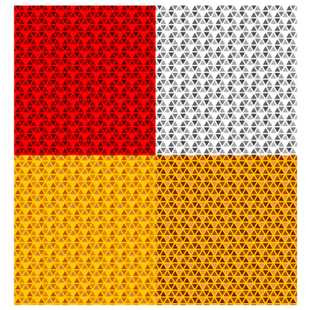 vehicle reflector seamless pattern