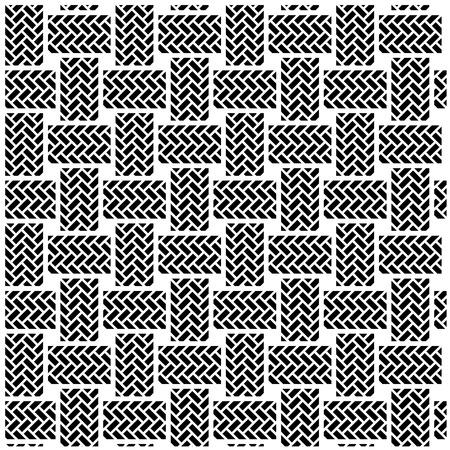 黒の白いシームレスな織物のパターン