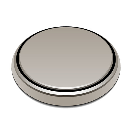 lithium: vector 3v button lithium battery