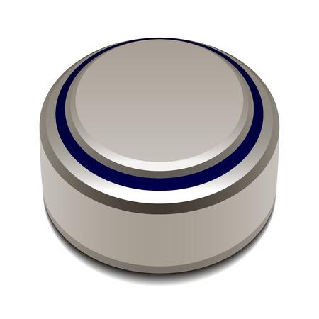 vector 1.5v button cell battery Vector