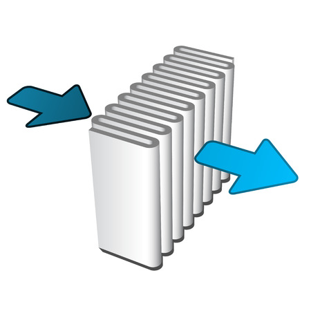 vector air filter effect icon Stock Illustratie