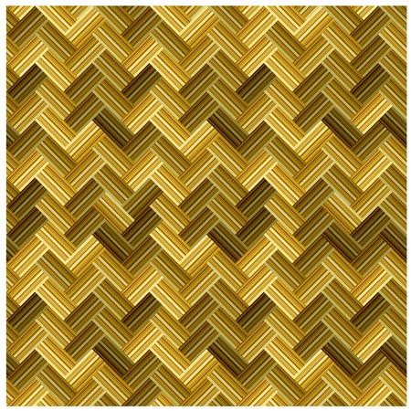 vector straw wicker seamless pattern