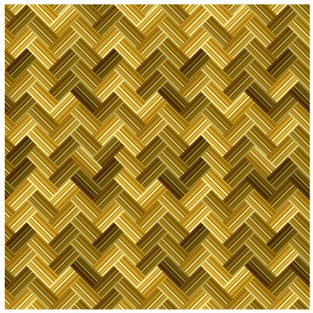 vector straw wicker seamless pattern Vector