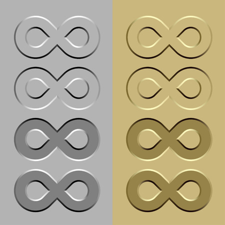 vector abstract unlimited stone carved symbol