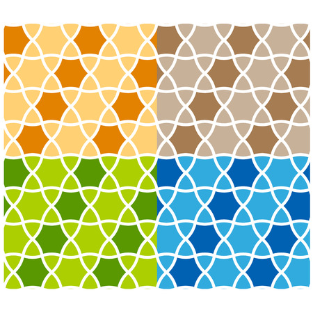 vector abstract seamless ornamental background Vector