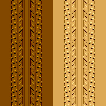 vector trace tyre mud sand Vector