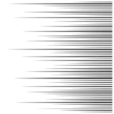 horizontal lines: vector blurred speed lines background