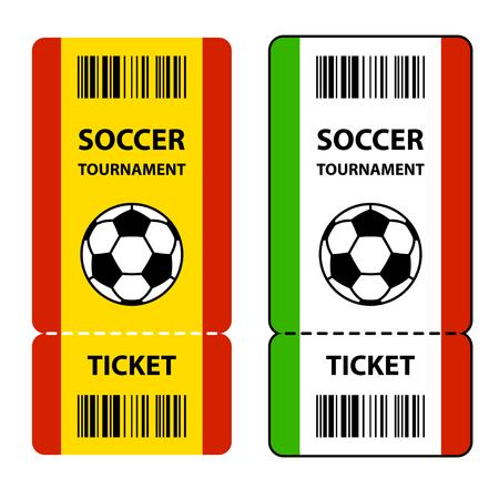 cerillos: boletos del torneo de fútbol de fútbol