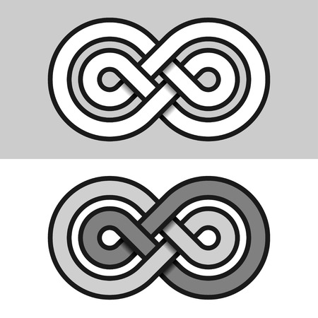 unrestricted: infinity eternity paper symbol
