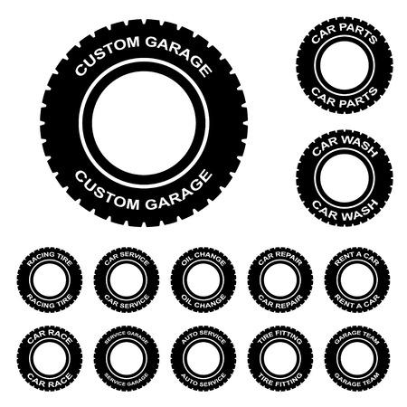 tire change: tire service rent wash car garage repair