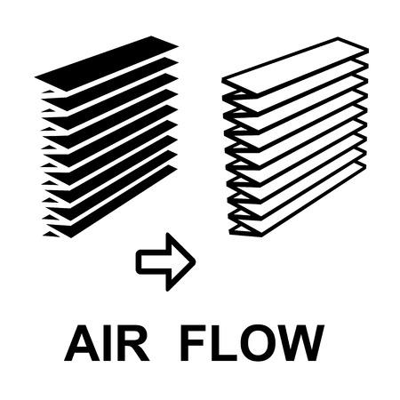 air filter: air filter black symbol