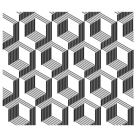 3D architectural corners line.