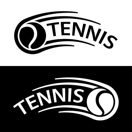 Tennis ball motion line symbol vector.