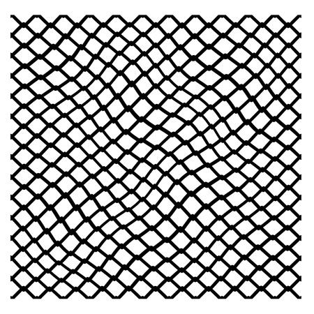 Irregular net seamless pattern vector illustration. Banco de Imagens - 83096248