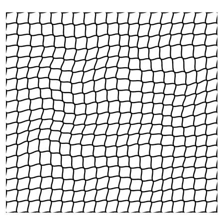 Irregular net seamless pattern vector illustration.