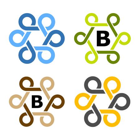 simple loops frame symbol vector