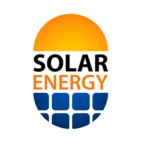 Solar energy symbol Ilustração