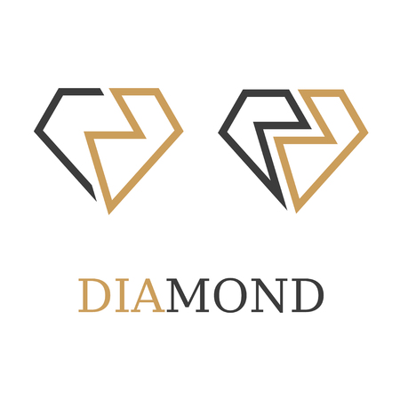 diamond simple symbol illustration