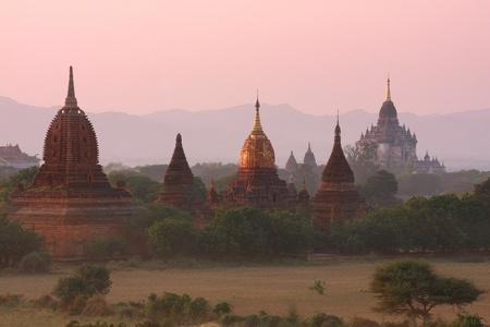 stupas: Pagoda,Stupas and Payas at Bagan, Myanmar