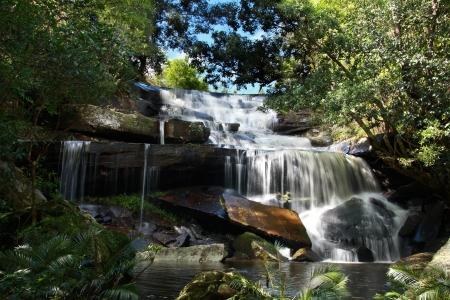 phon: Ley, Phon Pob Waterfall, Phukradung; National park, Thailand Stock Photo