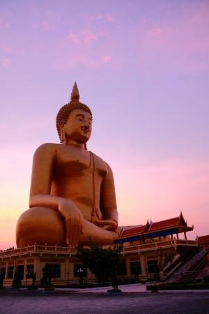 ang thong: Wat Muang Monestary in Ang Thong province, Great buddha of thailand.