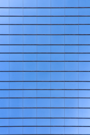 Blue Glass building skyscraper texture pattern flat plane photo