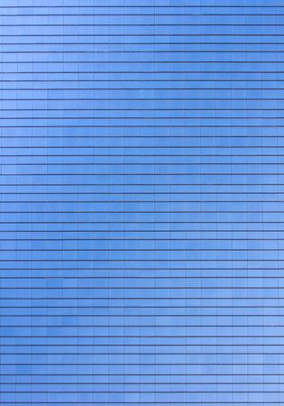 Blue Glass building skyscraper texture pattern flat plane Stock Photo - 26665340