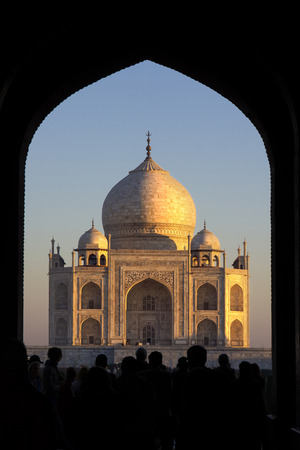 Taj Mahal, India, Agra, 7 world wonders dramatic light sunrise photo