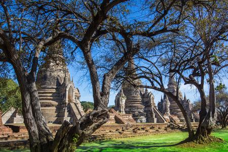 Phra Sri Sanphet temple the historic temple in Ayutthaya, Thailand. photo