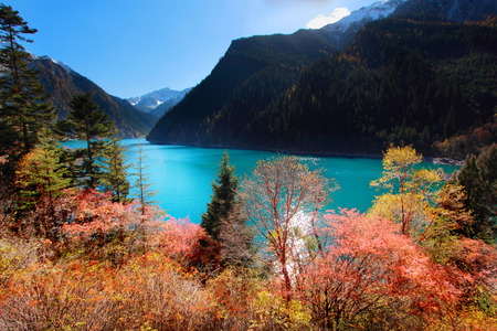 long lake: Long Lake is the highest, largest and deepest lake in Jiuzhaigou.