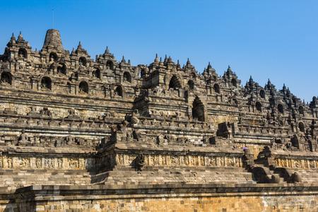 YOGYAKARTA: Borobudur Temple at day time, Yogyakarta, Java, Indonesia.