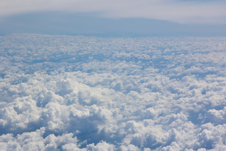 above cloud gradient blue sky background only stock photo picture