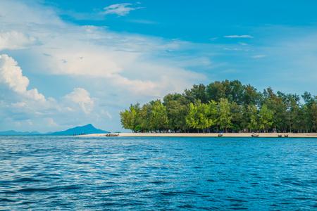 Beautiful view of Ko Phai or Bamboo Island, Krabi Province, Thailand