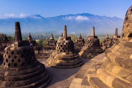 Borobudur Temple at day time, Yogyakarta, Java, Indonesia.