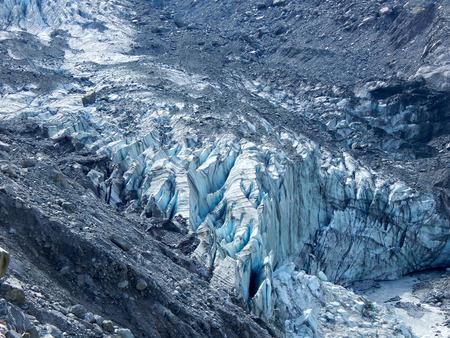 fox glacier: Fox Glacier in New Zealand