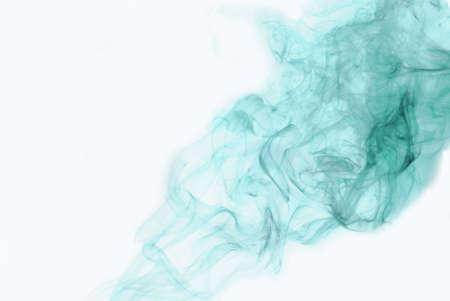 metallic seaweed: smoke pastel green Stock Photo