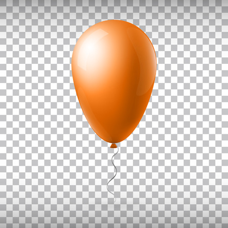 aerostatics: Abstract creative concept vector flight balloon with ribbon. For Web and Mobile Applications isolated on background, art illustration template design, business infographic and social media icon. Illustration