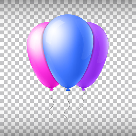 Abstract creative concept vector flight balloon with ribbon. For Web and Mobile Applications isolated on background, art illustration template design, business infographic and social media icon. Illustration