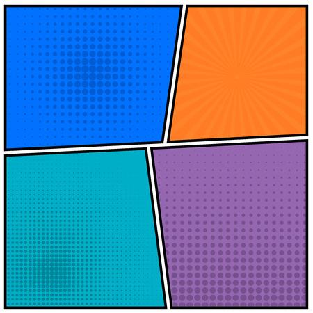 Abstract Creative concept vector empty speech bubbles set.